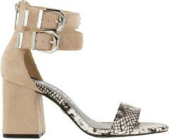 Supertrash Ayla sandalen met hak beige - Maat 40