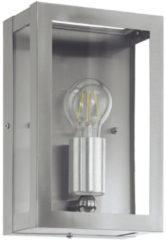 Roestvrijstalen EGLO Vintage Alamonte - Buitenverlichting - Wandlamp - 1 Lichts - Roestvast Staal