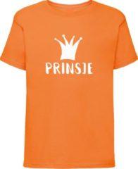 Bulbby Oranje shirt Koningsdag | Prinsje | Maat 110-116