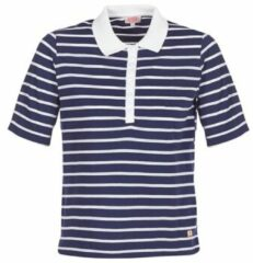 Blauwe Polo Shirt Korte Mouw Armor Lux POLAED