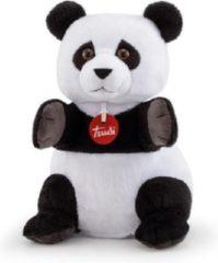 Trudi Handpop Panda 24 Cm Pluche Zwart/wit