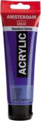 Royal Talens Amsterdam Standard acrylverf tube 120ml - 570 - Phtaloblauw - transparant
