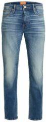 Blauwe JACK & JONES JEANS INTELLIGENCE mike orignal jos regular fit jeans blue denim