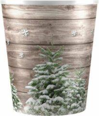 Groene Plastic Coverpot Christmas Tree pot 12 (inclusief Waterwick)