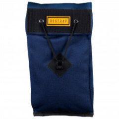 Restrap - Large City Saddle Bag - Fietstas maat 2 l, blauw/zwart