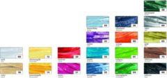 Raffia Folia 10 rol a 30 meter assorti kleuren