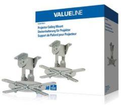 VALUELINE Deckenhalterung für Projektor, bis zu 10 kg, in verschiedenen Farben Farbe: Silber