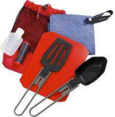 Rode MSR Ultralight Kitchen Set Campingservies en keukenuitrusting rood/zwart