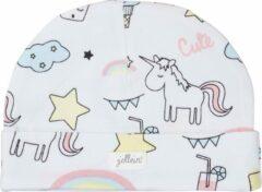 Jollein Meisjes Babymutsje - Unicorn - Maat 6-12 mnd