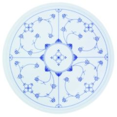 Tortenplatte Blau Saks Kahla Weiß