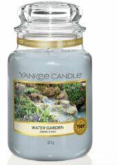 Blauwe Yankee Candle - Water Garden Candle ( zahradní potůček ) - Vonná svíčka