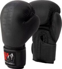 Zwarte Gorilla Wear Montello Bokshandschoenen - Boxing Gloves - Boksen - 8 oz