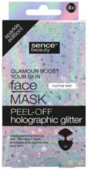 Sence Gezichtsmasker Peel-Off Glitter 4 stuks