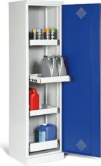 Protaurus Umweltschrank eintürig mit 4 ausziehbaren Wannen, 195 x 50 x 50 cm