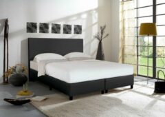 Better Nights Boxspring City 180x200 zwart lederlook + matras milano