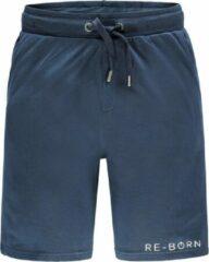 Marineblauwe Re-Born Jogging Short Heren - Navy - Maat S