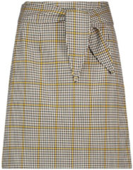Zwarte AAIKO Patia noisette check skirts