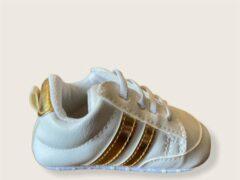 Gouden Merkloos Pretty Sweetheart Baby Gymp I Gold - 0-6 mnd