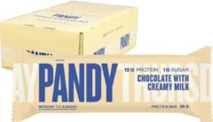 Pandy Low Sugar Protein Bar Chocolate with Creamy Milk 18x35g