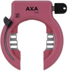 AXA Ringslot Solid Zwart Spatbord ART2 Middenroze