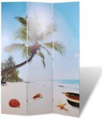 VidaXL Kamerverdeler inklapbaar strand 120x170 cm