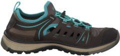 Wanderschuhe Terradora Ethos 1018622 mit abriebfester Sohle Keen Mulch/Blue Turquoise