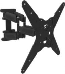 Zwarte ABC-Led Monitor- TV-beugel 1 Scherm 19 tot 55 inch - Muurplaat AR-73