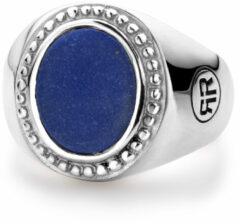 Rebel & Rose Rebel and Rose RR-RG016-S Ring Women Oval Lapis Lazuli zilver-blauw Maat 50