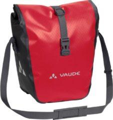Vaude - Aqua Front - Bagagedragertas maat 28 l, roze/rood/zwart