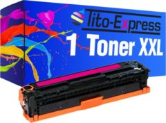 Tito-Express PlatinumSerie PlatinumSerie® 1 Toner XL Magenta voor HP CE323A 128A Laserjet CP1525 CP1525N CP1525NW Laserjet Pro CP1525 CP1525N CP1525NW CM1415FN CM1415FNW
