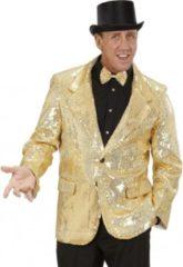 Gouden Widmann Colbert pailletten goud 50 (m)