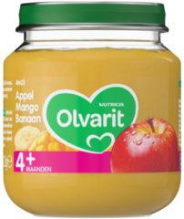 Olvarit Appel Mango Banaan 4+ Maanden (1 Potje van 125g)