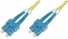 Digitus DK-2922-02 Glasvezel kabel 2 m SC Geel