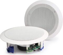 Witte Power Dynamics CSBT80 Bluetooth inbouw plafond speakerset (actief)