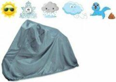 Bavepa Fietshoes Polyester Geschikt Voor Popal Benthe 16 inch Meisjes Grijs Inclusief Meegeleverde Bevestigingshaken