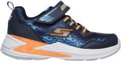 Marineblauwe Skechers Sneakers - Maat 34 - Jongens - navy/oranje