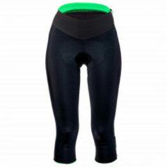 Q36.5 - Short Trequarti 3/4 Lady - Fietsbroek maat L, zwart