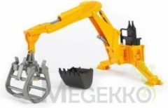 Bruder Accessoires: Rear hydraulic arm with grab