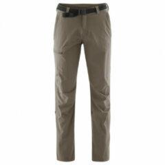 Maier Sports - Nil - Trekkingbroek maat 33 - Short bruin/grijs/olijfgroen