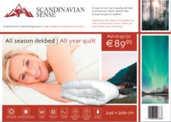 Scandinavian Sense All Season Dekbed - 240 x 200 cm (in meerdere formaten!)
