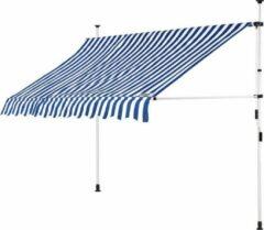 Detex Klem luifel blauw/wit 250cm
