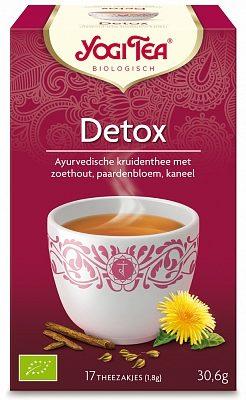 Afbeelding van Yogi Tea Yogi Thee Detox