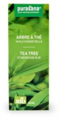 Purasana Tea Tree Olie Bio (30ml)