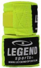 Legend Sports Bandages 2,5M Legend Premium diverse kleuren : Neon Groen