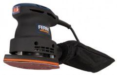 FERM PSM1013 Vlakschuurmachine - 220 W - Klittenbandaansluting - Incl. schuurpapier, stofopvangzak en opbergkoffer