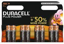 Duracell Plus Power AA Batterij, LR6, Niet Oplaadbaar, 8 Stuks
