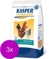 Kasper Fauna Food Hobbyline Multimix Krielkip 3x 4 kg