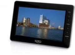XORO PTL 1010 10.1Zoll LCD 1024 x 600Pixel Schwarz Tragbarer Fernseher XOR400516