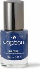Blauwe Young Nails - Caption Caption Nagellak 021 - Find a short cut