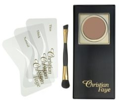 Christian Faye Eyebrow Make Up wenkbrauwpoeder - Bronze